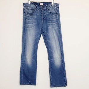 Hudson Byron 5 pocket straight leg jeans W34xL28.5